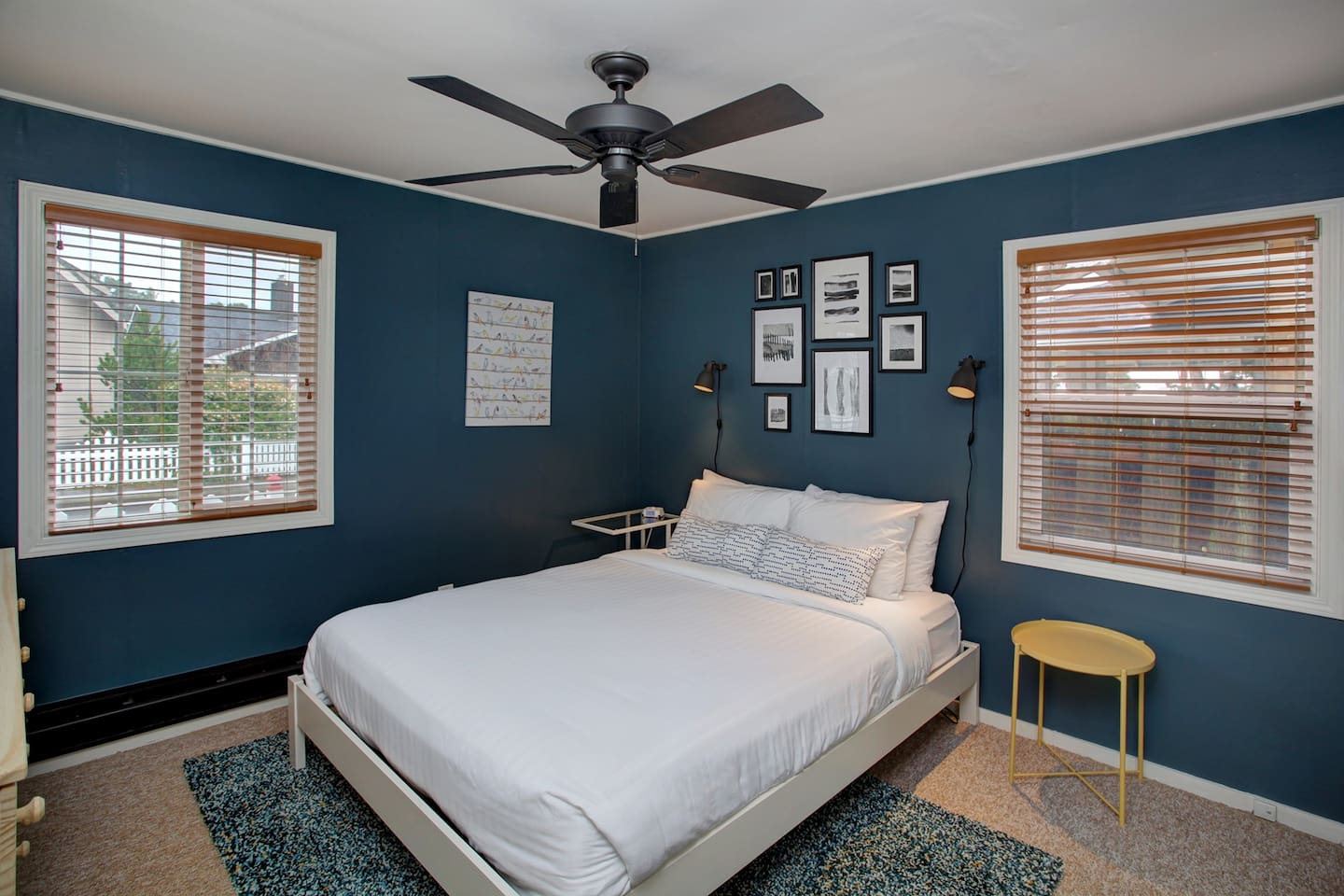 Queen bedroom perfect for a getaway for 2!