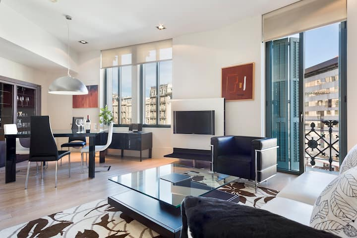 Luxury 3 bedroom apartment on Paseo de Gracia