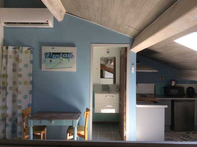 T2 mansardé dans bastide ancienne - Valence - Apartment