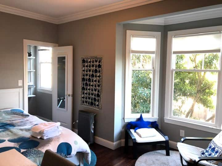 Clean and Safe Modern Victorian Guest Room