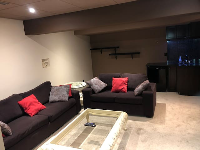 Downstairs Entertainment Room
