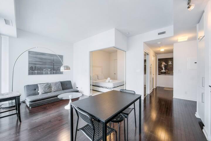Bright & Modern Condominium