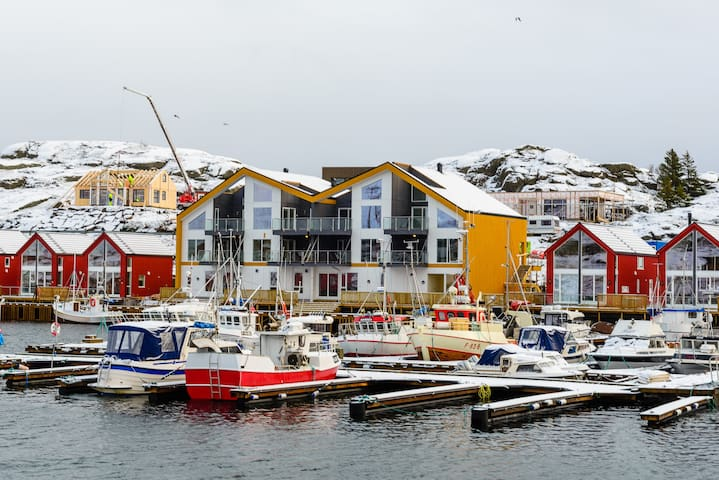 Ballstad apartment, in the center of Lofoten