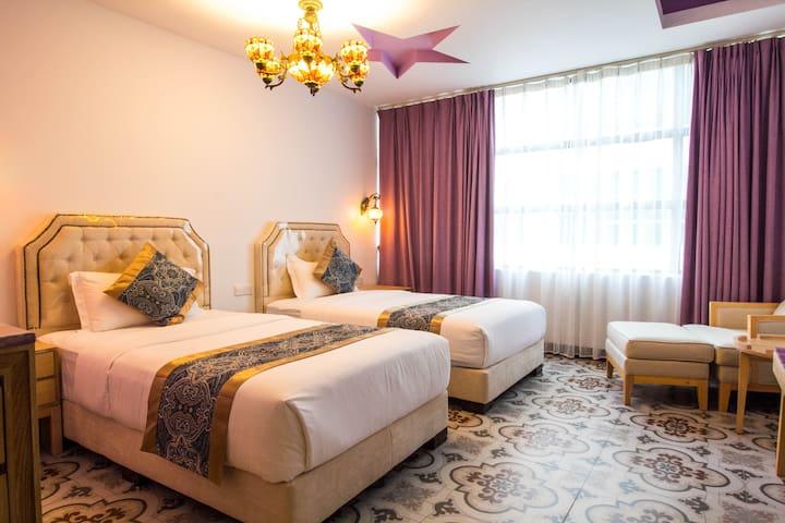 Hilal hotel 哈鲁主题宾馆