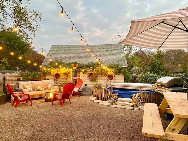 {Spa} Unique {Firepit} Retreat {Pool}