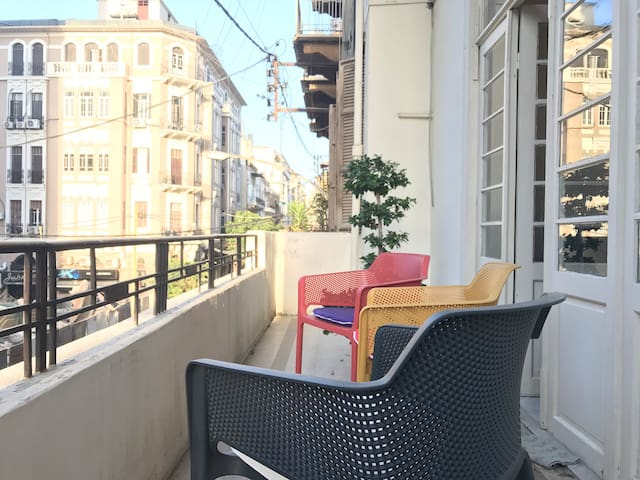 Spacious, Central, Classical Gemmayze/Beirut Flat