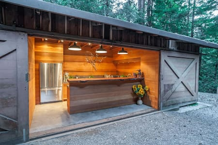 Glamping in the redwoods - Waldhaus at La Honda