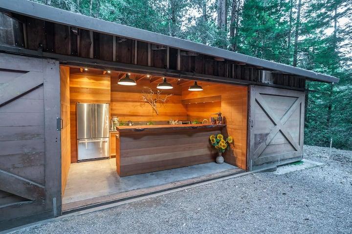Glamping in the redwoods - Waldhaus at La Honda