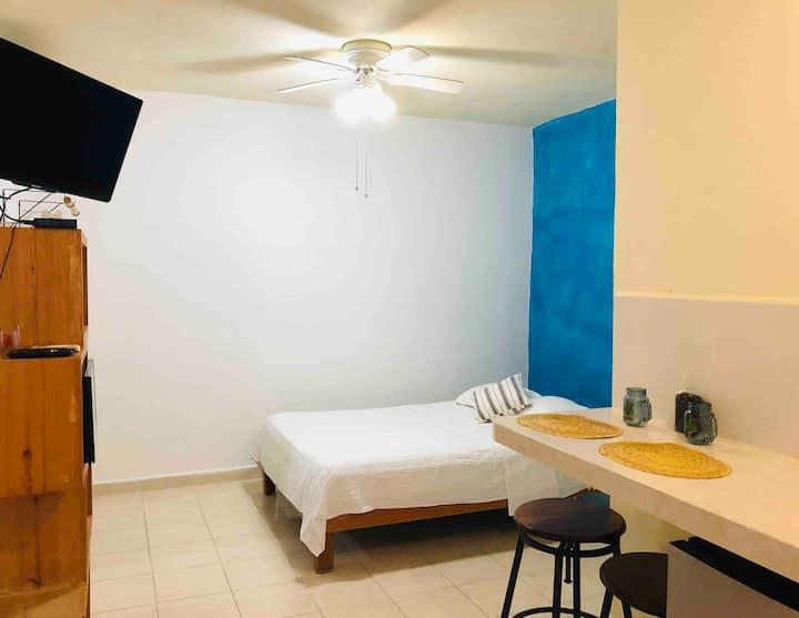 (Z6) Quédate en Cancún, cerca del ferry a Isla