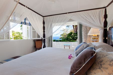 Luxurious Bungalow in Colombier Estate Villa - Gustavia