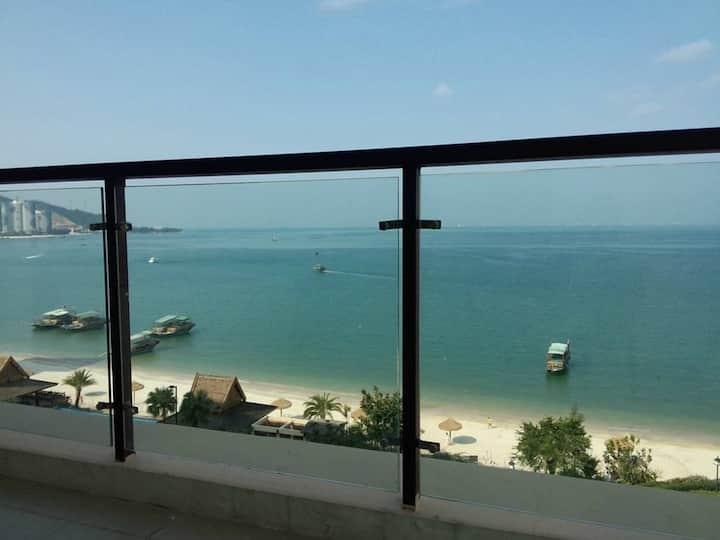巽寮湾海公园豪华海景房,一线海景公寓酒店