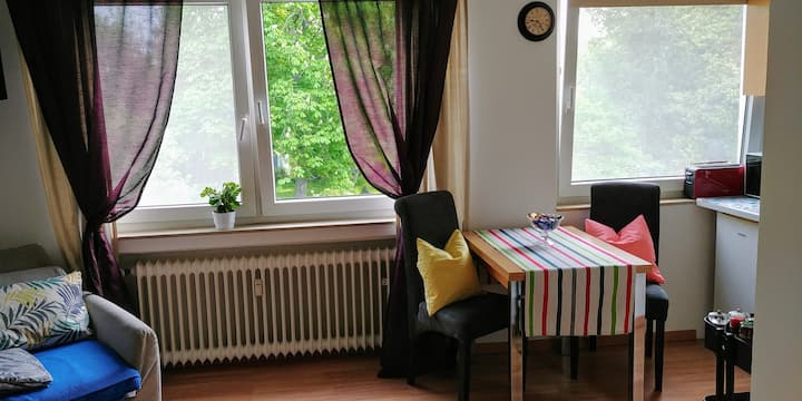 1-room flat near tradefair/congress center Cologne