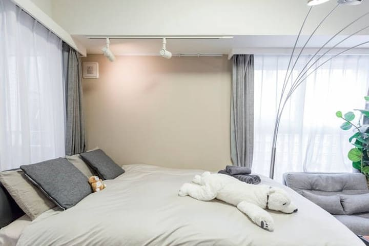 ROPPONGI STUDIO - 1 MIN TO METRO - Minato-ku - Appartement