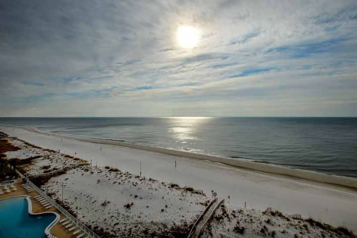 8th Floor Direct Gulf Views~Zero Entry Pool~Beaches OPEN~Vitamin Sea is FREE!