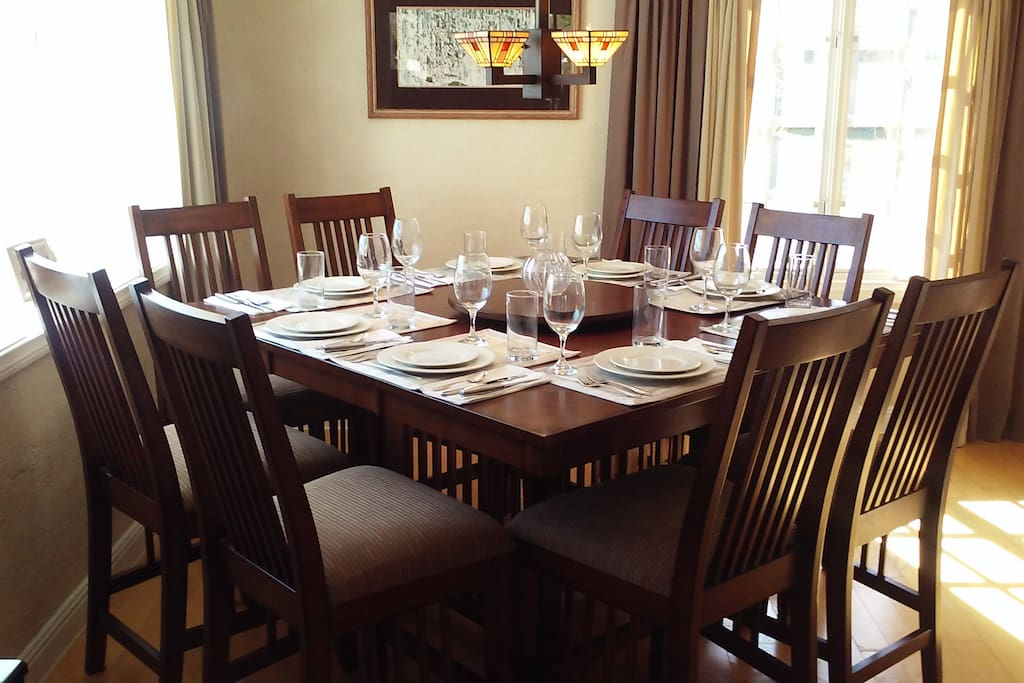 8 Seat Family Dining Table