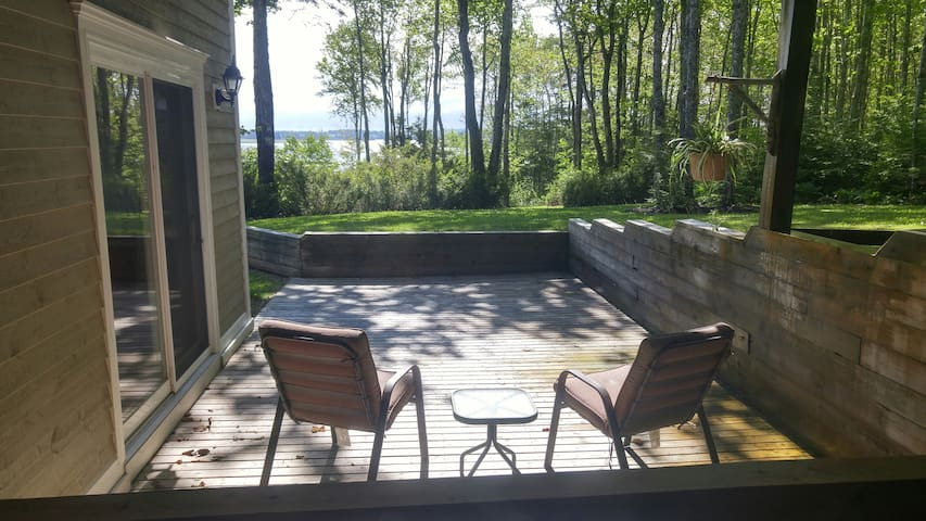 Sit on your private deck