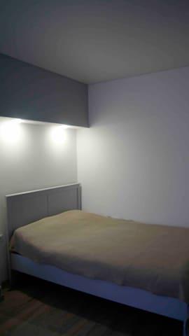 Подготовленная для вашего сна кровать, заправленная всегда только чистым постельным бельём