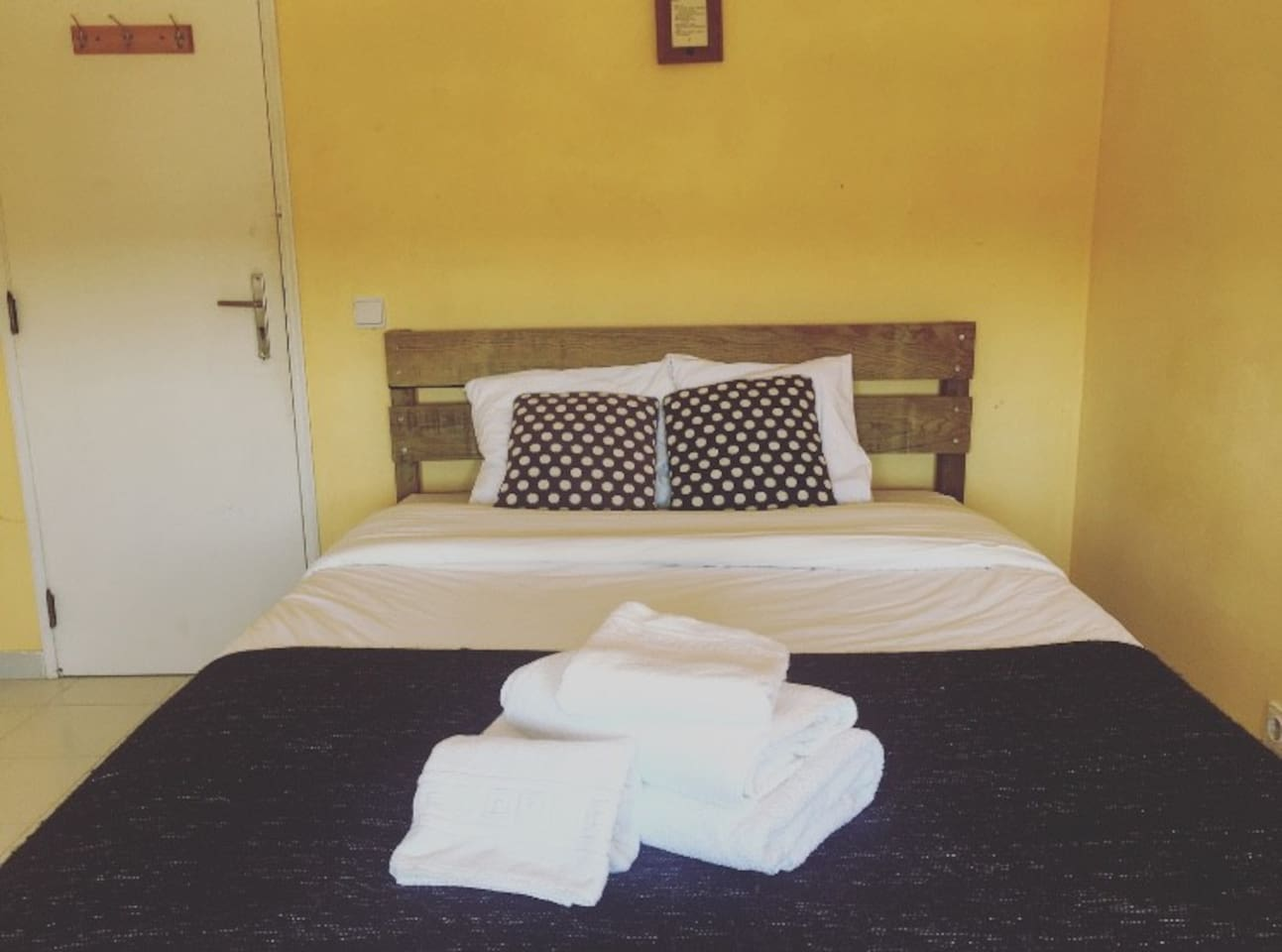 our cozy double bed