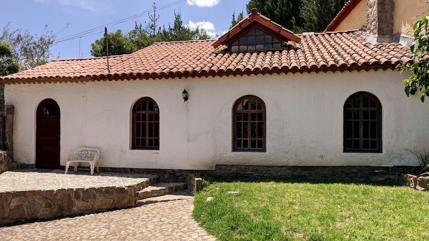 Cálida y acogedora casita de Chilimarca