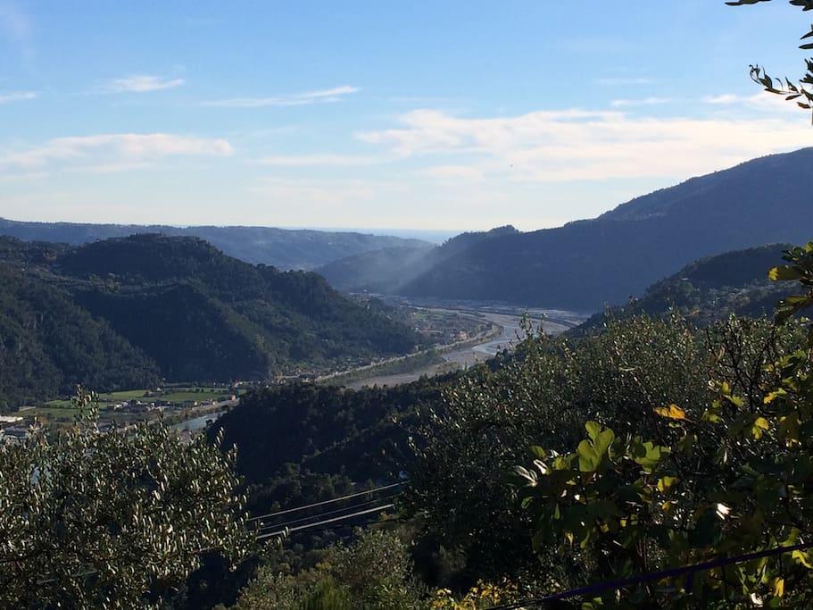 vue sur la vallee