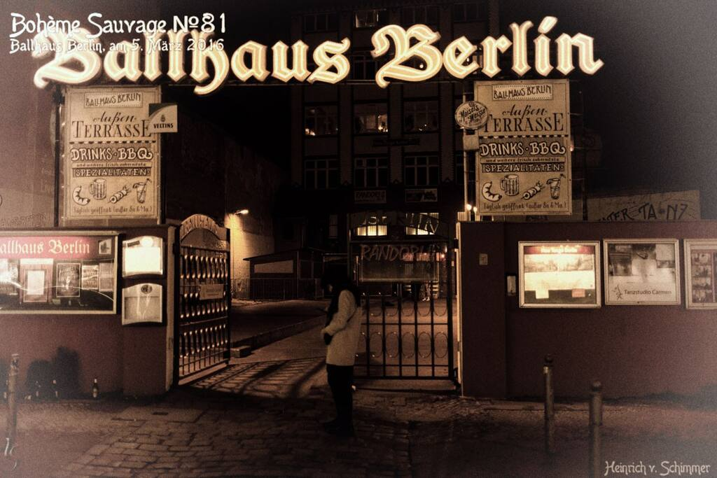 Berlins ältestes Ballhaus!