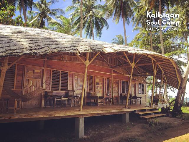 Kaibigan Soul Camp Palawan • longhouse • WHALE SHARK BEACHSIDE