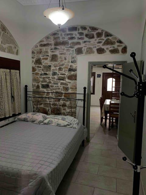 Útulný dom na pláži v Emporios, Chios