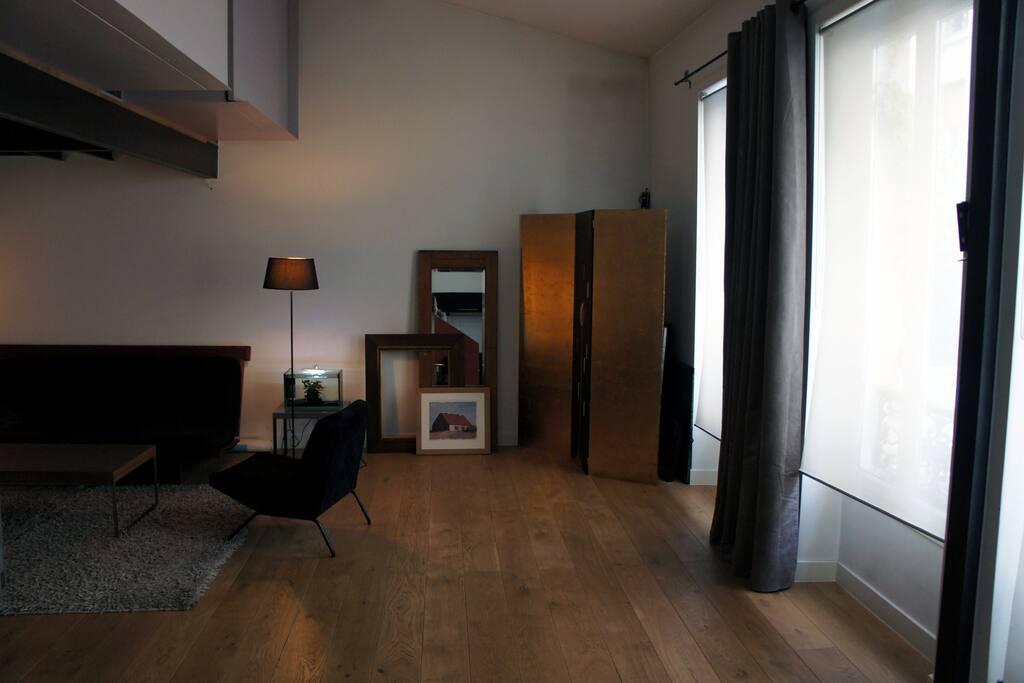 1st floor living room space