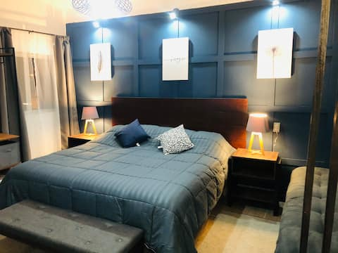 Estudio 4 centro histórico cama king size Netflix