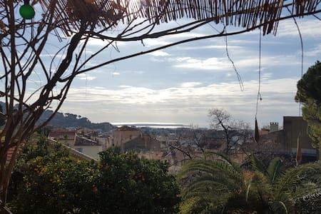 Villa vue mer jardin à 10mn de Cannes - Le Cannet - Casa