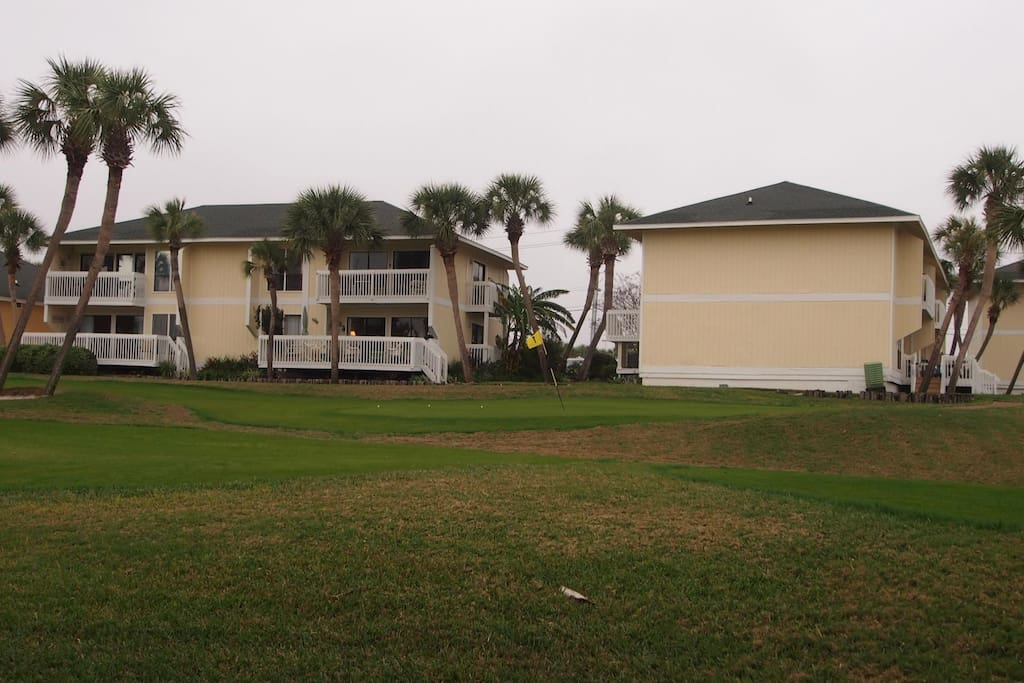 On the 9th Hole - The back of this Condo is facing the 9th Hole of the Golf Course!