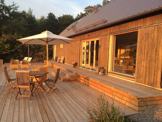 Skärgårdshus med sjöläge - Karlskrona S - Casa