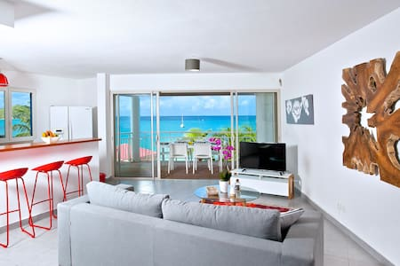 NEW & CENTRAL on Grand Case Beach, Pool, Parking. - Grand-Case - Apartment