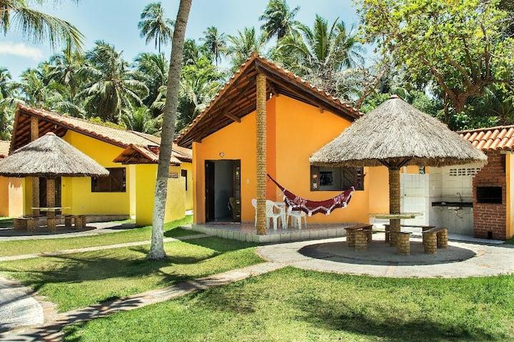 Costa Dourada Village - Chalé 3 quartos