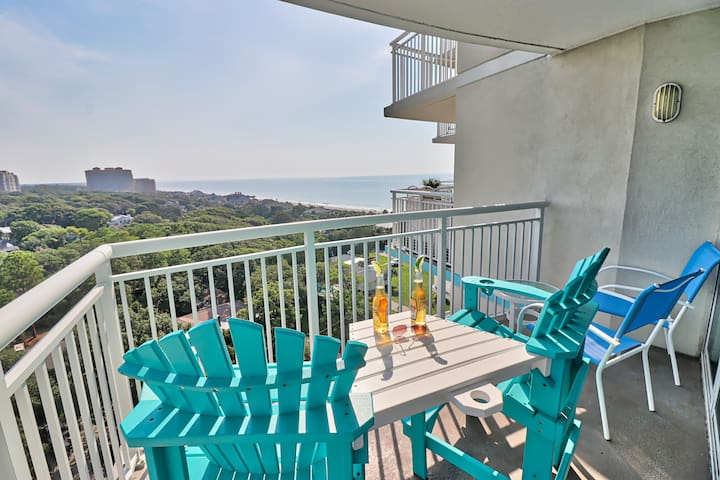 Amazing Ocean Views, 2 BRs Sleeps 6, 4 Star Resort