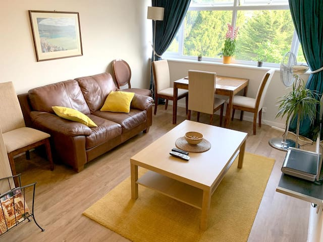 Living area includes TV/Satellite/WiFi