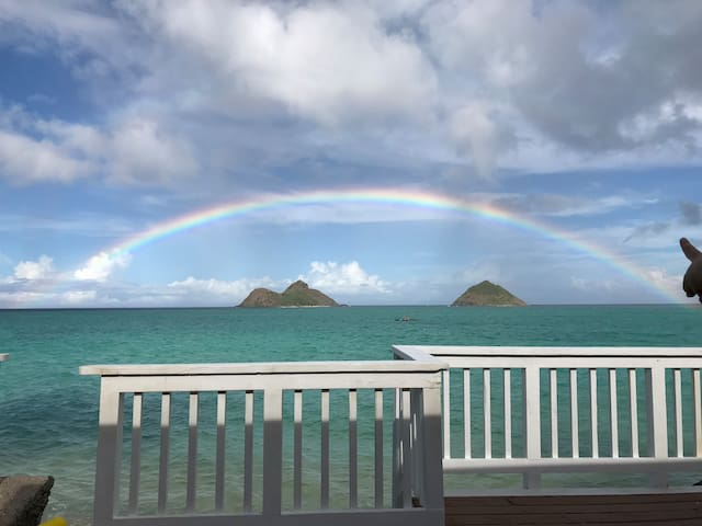 Lanikai ocean cottage