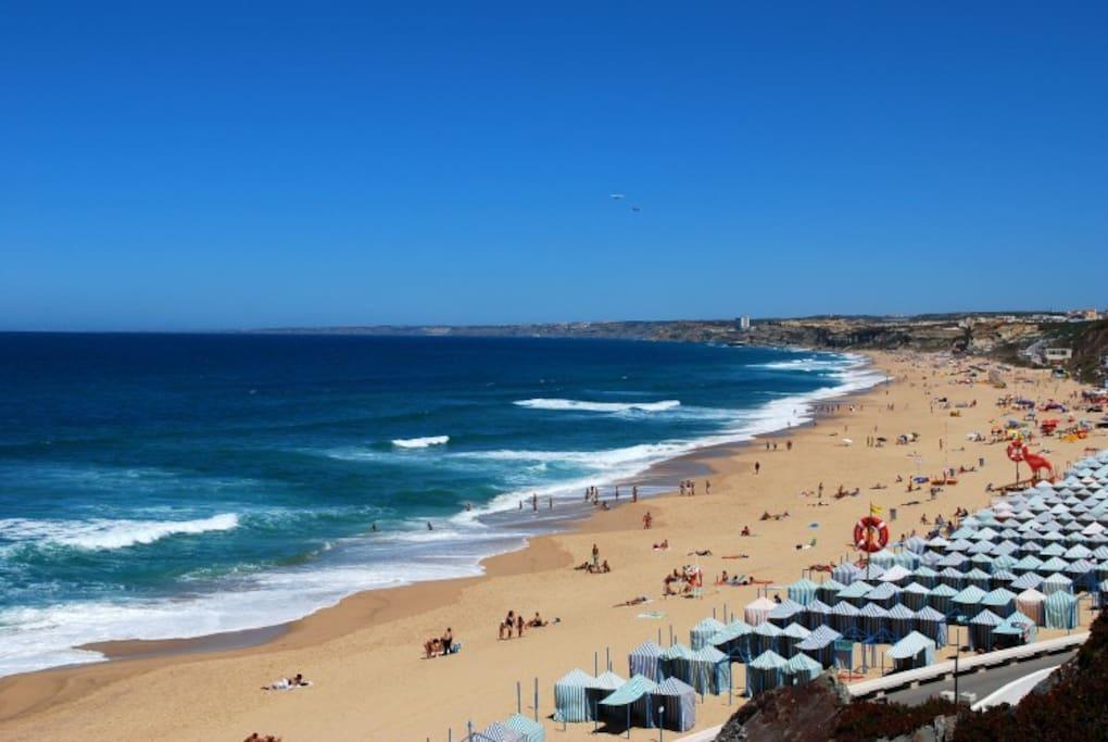 une plage de SANTA CRUZ