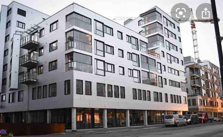 Sentral beliggenhet midt i Bodø sentrum