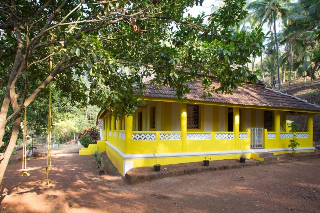 Loliem Village House, near Polem beach, Goa - Main