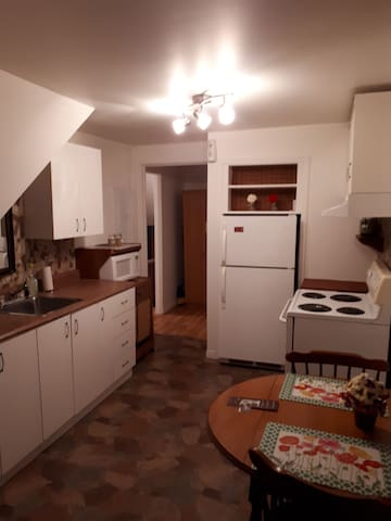 Loft 2 et demi, meublé tout inclus au centre ville