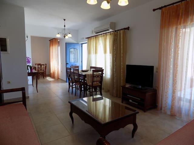 Villa A - Living room