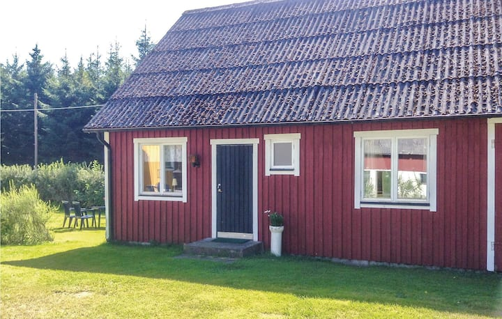 Nice home in Röke with 1 Bedrooms