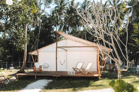 Beautiful casitas site with a beach lounge