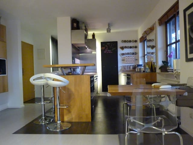 Top Duplex Flat in  South Munich - Oberhaching - Apartament