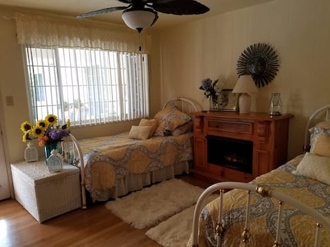 Beautiful, warm and cozy room on a country acre!