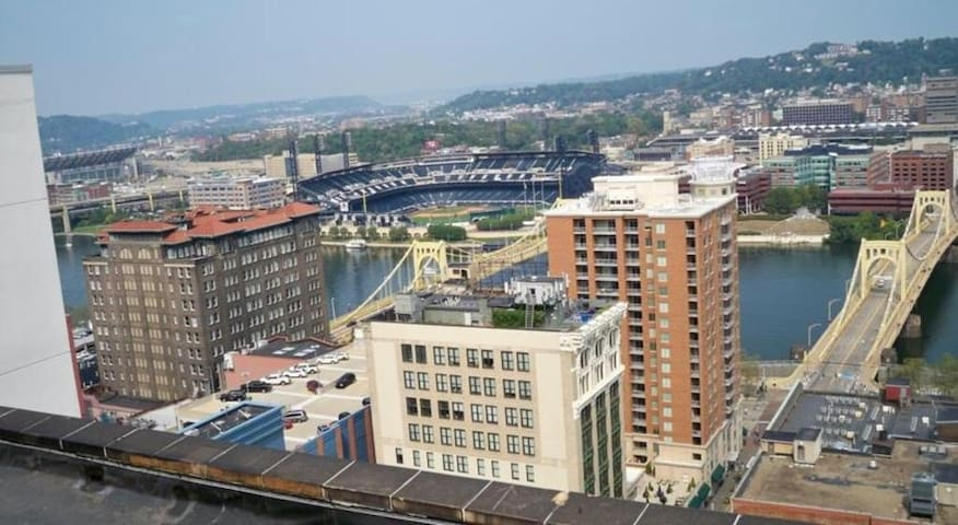Best Views In the Heart of Downtown - Pittsburgh - Apartment