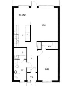 Rivitalo asunto 2 h+k+kh+s - Siilinjärvi - Maison de ville