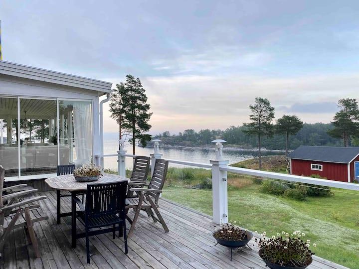 Boende med utsikt i Bönhamn, Höga kusten