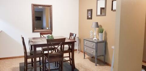 Charming serviced apartment near NDSCS in Wahpeton